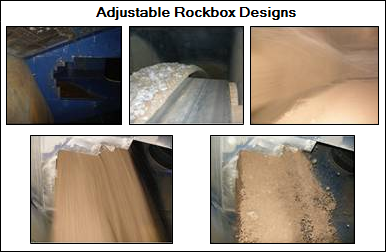 Newton can help optimize the design of transfer chutes and rockboxes
